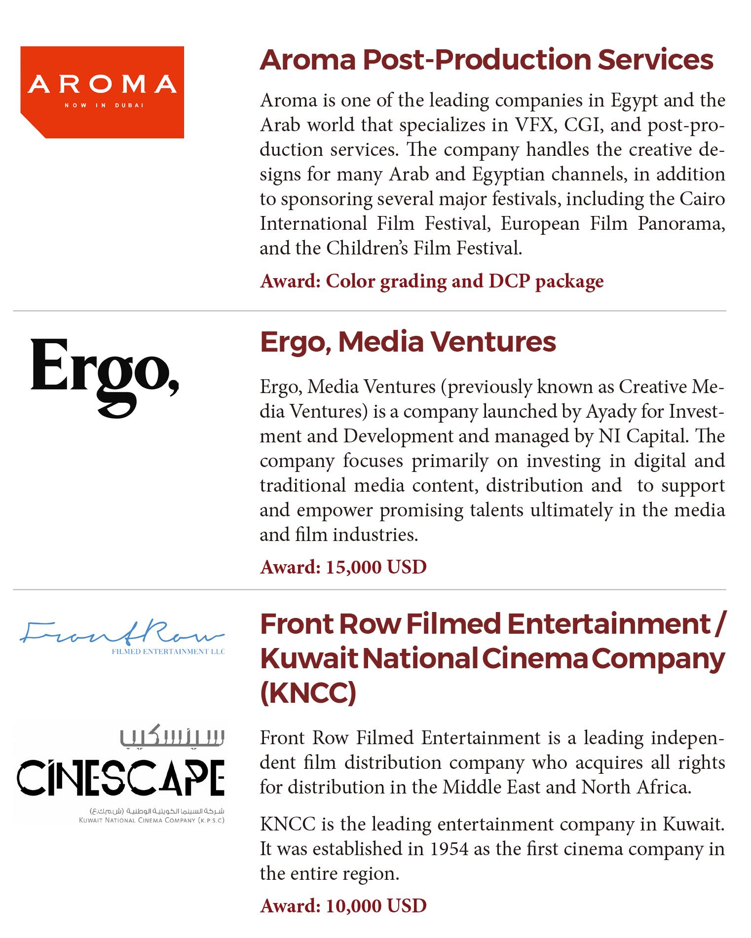 Cairo Film Connection – Cairo International Film Festival